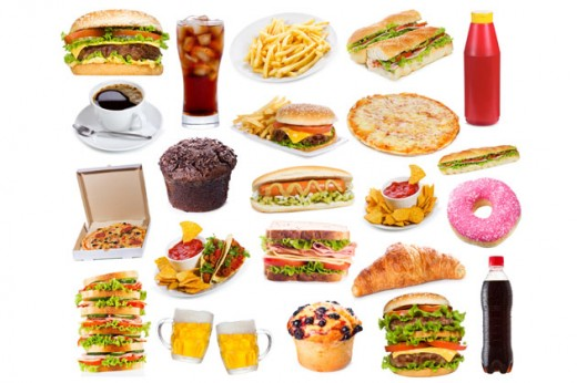 comida con grasa