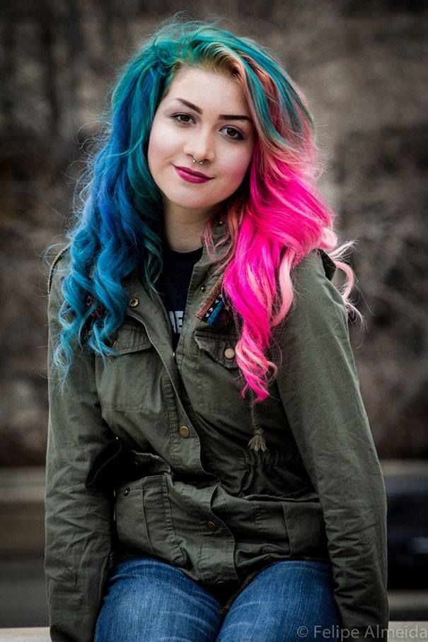 Tinta Pelo Rainbow