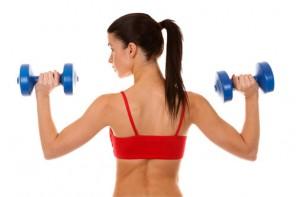 ejercitar musculos del brazo
