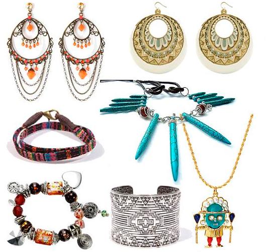 Catálogo de accesorios y complementos étnicos