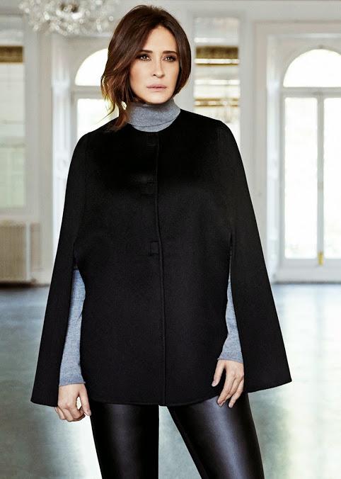 mujer con abrigo Violeta by Mango