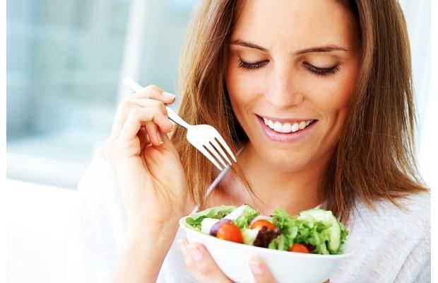 Comiendo saludable