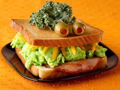sandwich de halloween